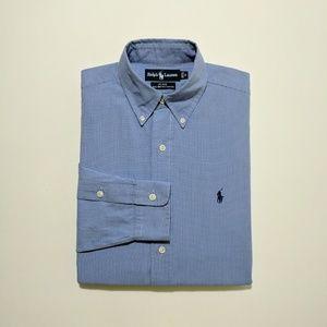 Ralph Lauren Men's Button Down Dress Shirt Small